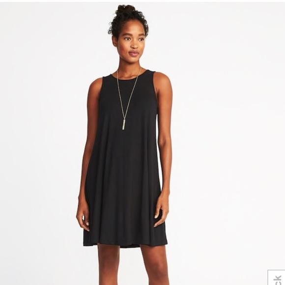 2115987e545d7 ... Old Navy Black Sleeveless Jersey Swing Dress. M_5a70fd22b7f72b9a36e2911e